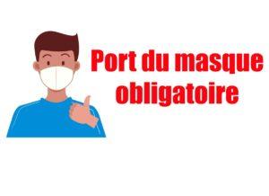 Port du masque obligatoire 😷
