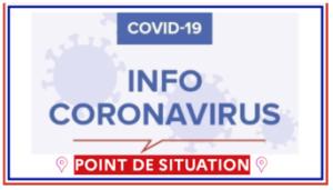INFO COVID-19 : Allégement des mesures sanitaires